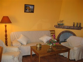 ferienwohnung in privater villa in almunecar costa tropical mit pool und meerblick